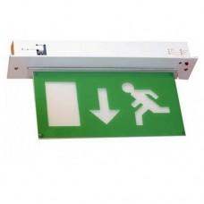 Noodverlichting F59  inbouw noodverlichtingsarmatuur met testfunctie. Uitstekende kwaliteit.