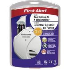 FirstAlert SCO5CE Combimelder (rook en co) Inclusief batterij.