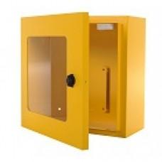 AED Indoor Wandkast geel